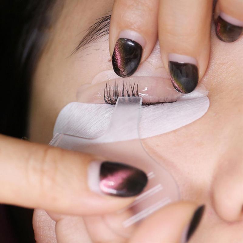 Silicone Eyelash Perming Pad Recycling Lashes Rods Shield Lifting 3D Eyelash Curler Makeup Accessories Applicator Tools
