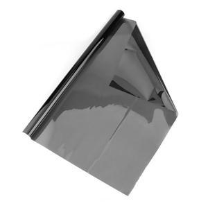 Image 4 - Vodool 50 × 600センチメートルvlt黒車の窓ロールオートカーの家の窓ガラス着色ステッカーフィルム太陽の紫外線保護curatin