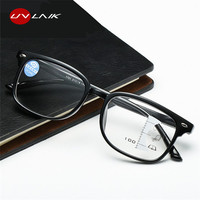 UVLAIK прогрессивные многофокусные очки мужские голубые световые блокирующие очки для чтения женские очки для чтения дальний прицел диоптрий