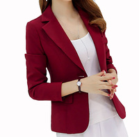 2019 Sale Blazer Women Vadim Flying Roc Woman Fashion Blazer Sleeve Slim Suit Ladies Jacket Patchwork Office Coats Feminino