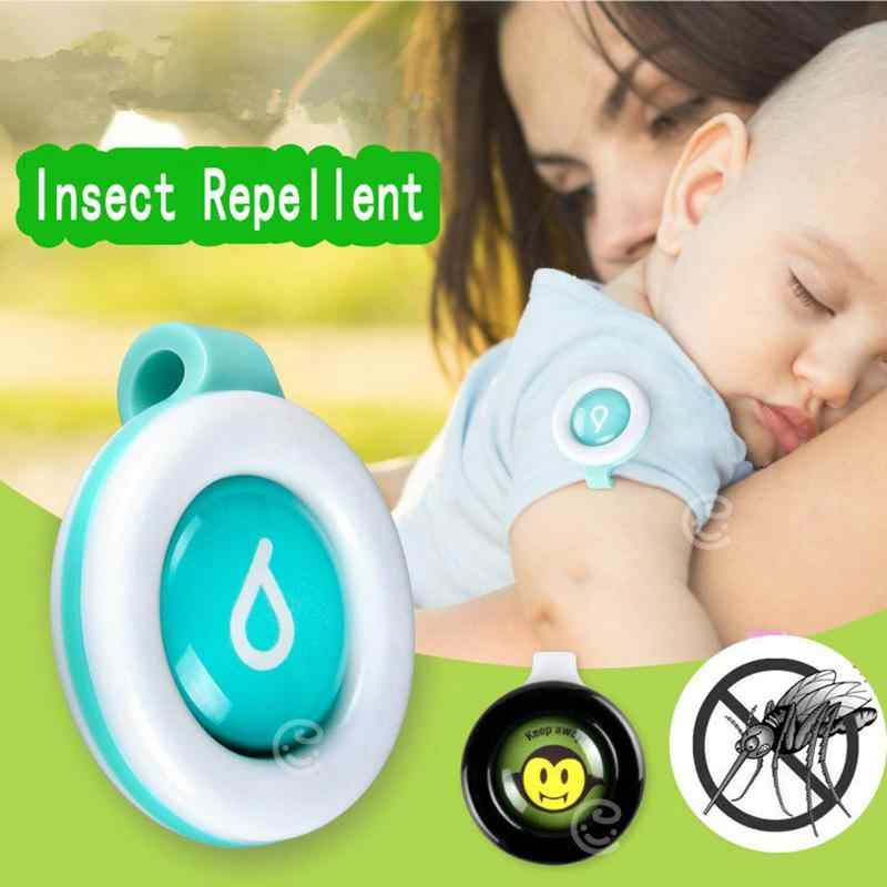Baby Kids Skin Care Anti-mosquito Pest Button Safe Buckle Repeller Control Insect Bugs Color Sent By Random
