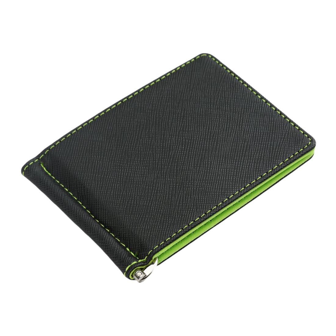 Mens Slim Bifold Front Pocket Wallet with Money Clip