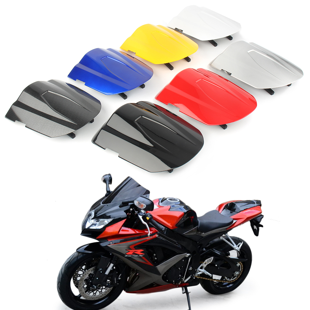 GSXR600 GSXR750 <font><b>2008</b></font> 2009 Rear Pillion Passenger Cowl Seat Back Cover For <font><b>Suzuki</b></font> <font><b>GSXR</b></font> <font><b>600</b></font> 750 08 09 K8 ABS plastic Aftermarket image
