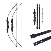 Bow Arrow Straight Pull Bow Split Type Straight Bow and Arrow Glass Fiber Sheet