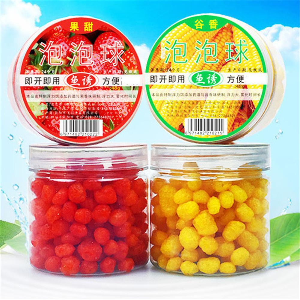 Fishing Lures Bubble Ball Granule Fishing Bait Floating Fragrant Lure Accessory For Catching Carp Herring Bream Fishing Gear