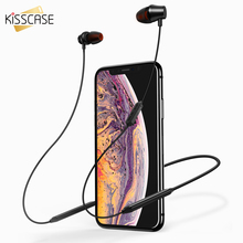 KISSCASE Wireless Bluetooth Earphone Sport Headphones with MIC Earbuds Stereo auriculares bluetooth for huawei Xiaomi Samsung original remax s8 wireless bluetooth earphone for iphone 7 xiaomi mi 5 wireless earpod sport stereo earbuds with mic auriculares