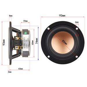 Image 2 - HIFIDIY CANLı hifi 3.6 3.5 inç 93mm Tam frekans hoparlör ünitesi 8 OHM 30 W Yüksek Alto bas hoparlör h3A A