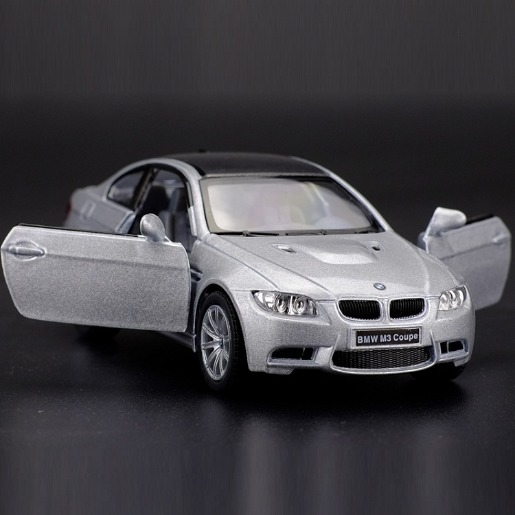 High Simulation Exquisite Diecasts&Toy Vehicles: KiNSMART Car Styling M3 Coupe 1:36 Alloy Diecast Car Model Pull Back Cars
