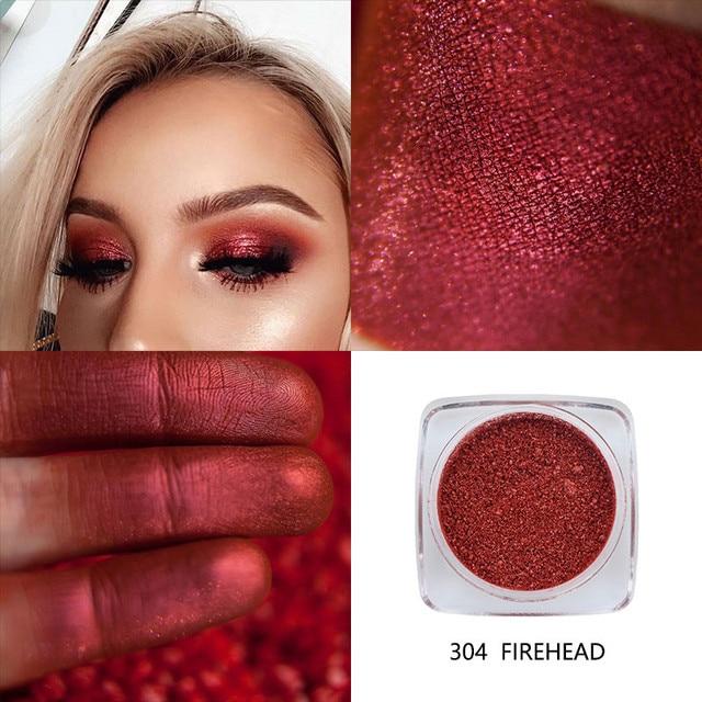 PHOERA 12 Color Shimmer Monochrome Eyeshadow Glitter Powder Waterproof Long Lasting Pro Eye Part Makeup Eye Shadow Palette TSLM2 5