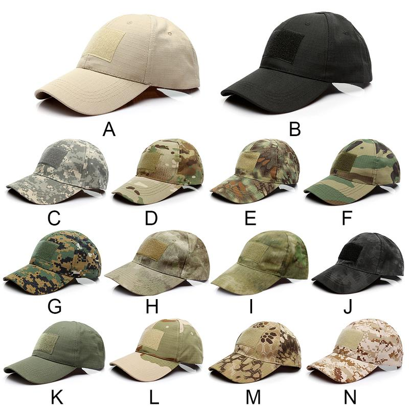 2019 Outdoor Sport Snapback   Caps   Camouflage Hat Simplicity Tactical Military Army Camo Hunting   Cap   Hat For Men Adult   Cap