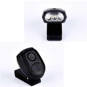 Image 5 - Sanyi 3 LEDs Headlamp Cap Light 90 Degree Rotatable Clip on Hat Light Hands Free Head Lamp Lantern Camping Cycling With Battery