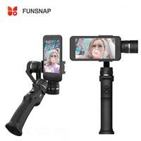 Funsnap Capture 3 axis Phone Handle Gimbal Stabilizer steadicam for Smartphone iPhone X 8 VS Zhiyun Smooth 4 Feiyu Vimble 2