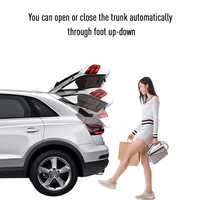 One foot Activated Induction Module for Smart Auto Electric Tail Gate Lift Car Styling