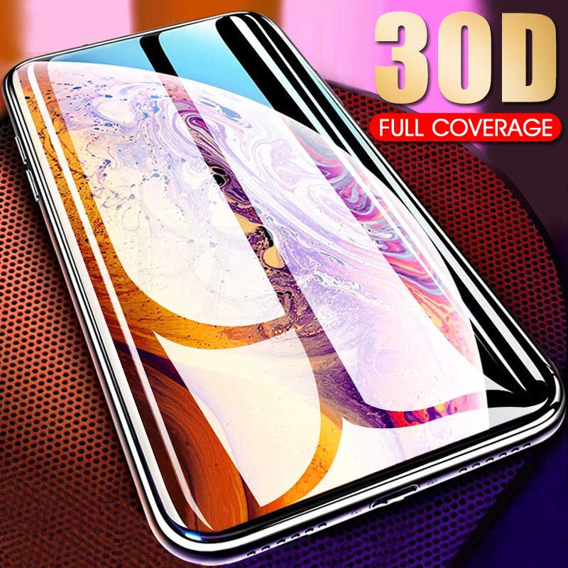 Protective Glass on the For iPhone X XS Max XR Tempered Screen Protector Film 0.3mm 30D Curved Edge Glass XR XS Max Cover GlassProtective Glass on the For iPhone X XS Max XR Tempered Screen Protector Film 0.3mm 30D Curved Edge Glass XR XS Max Cover Glass