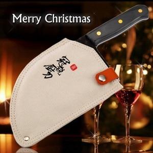 Image 1 - קופיץ סיני בעבודת יד מטבח סכיני שף בישול כלים חג המולד מתנה ירקות בשר חיתוך קמפינג מנגל חיצוני קמפינג
