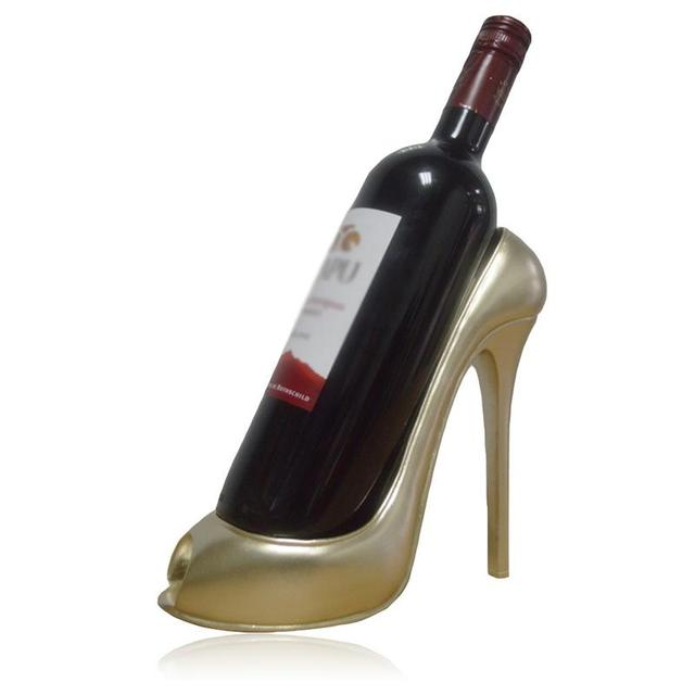 Amusing High Heel Shaped Wine Bottle Holders