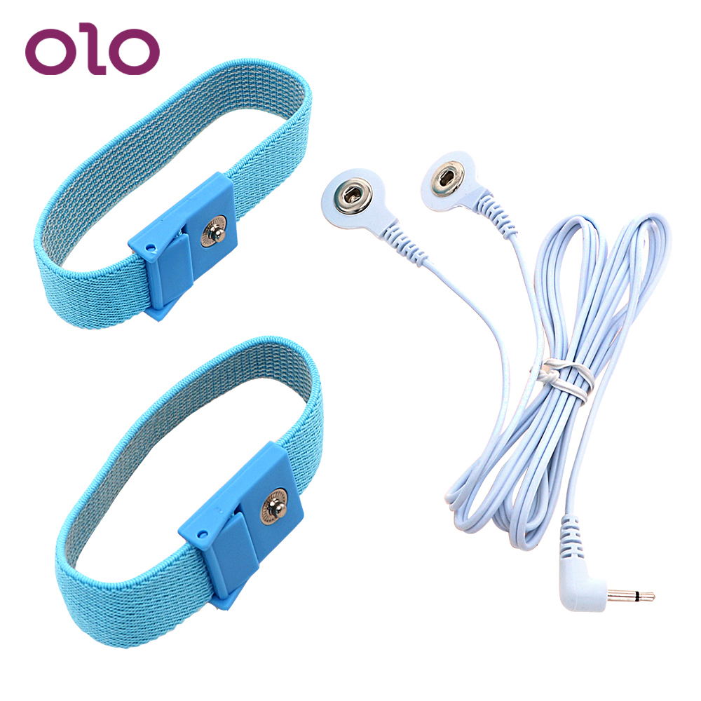OLO 2 Pieces Penis Stimulator Electric Shock Cock Rings Medical Themed Toys Penis Extender Sex Toys for MenOLO 2 Pieces Penis Stimulator Electric Shock Cock Rings Medical Themed Toys Penis Extender Sex Toys for Men