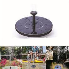 Мини солнечный фонтан Солнечный плавающий фонтан воды для украшения сада бассейна пруда