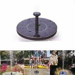 2019 nova mini fonte solar fonte de água flutuante solar para jardim piscina lagoa decoração