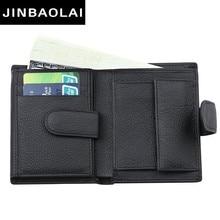Fashion Men Wallet Genuine Leather Wallet