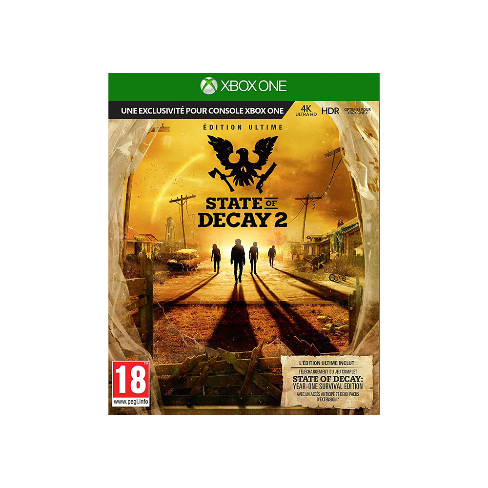Game Deals xbox KZN-00020 State of Decay 2 Ultimate game deals xbox agents of mayhem xbox one