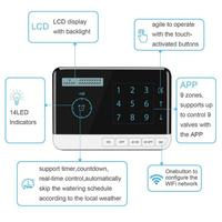 Controller 9 Zone WiFi Irrigation Timer System Controller Electronic Garden Yard Automatic Watering Tool