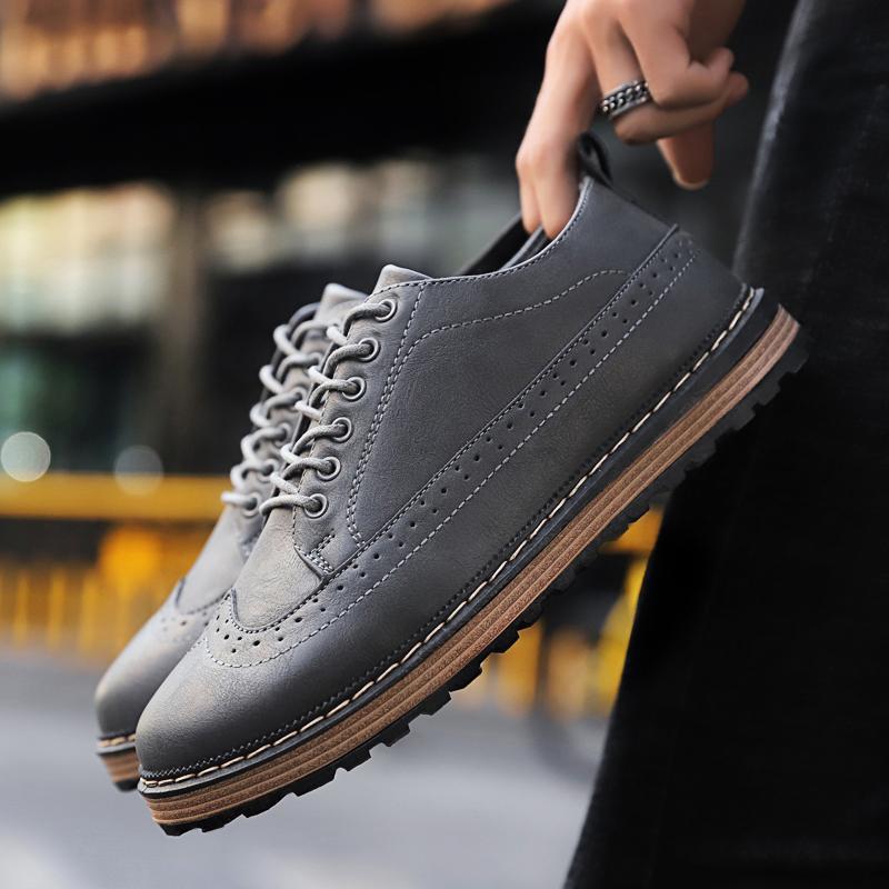 Moda mujer cuero casual zapatos italianos pisos marca de