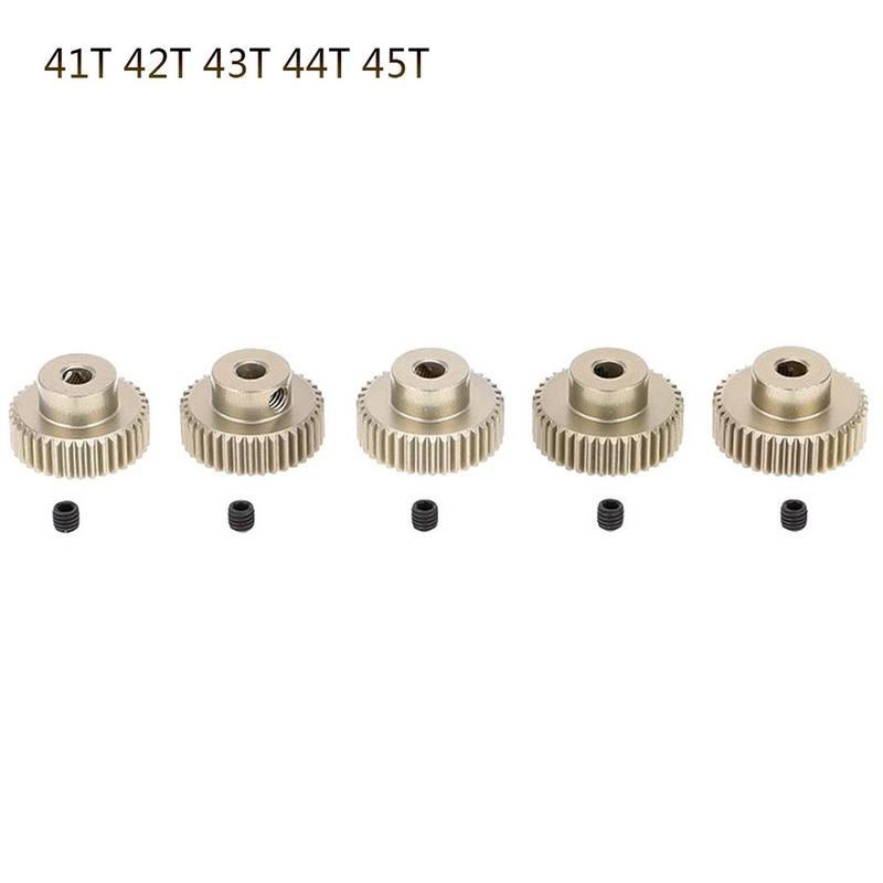 64DP 3.175mm 21T~50T Pinion <font><b>Motor</b></font> Gear for <font><b>1</b></font>/<font><b>10</b></font> RC Car Brushless <font><b>Motor</b></font> image