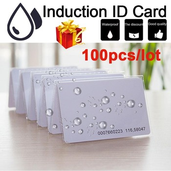 100pcs EM ID Card EM4100/4102 TK4100 Reaction ID Card 125KHZ Fit for Access Control Card Time Attendance Good Quality RFID Card rfid 125khz id em4100 tk4100 portable mirco usb card reader for android phone