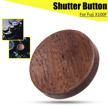 Aparat drewniany spust migawki z litego drewna dla Fuji X100F dla FujiFilm X100F elektronika użytkowa akcesoria do aparatu tanie i dobre opinie Freya Fujitsu Shutter Release Button wireless