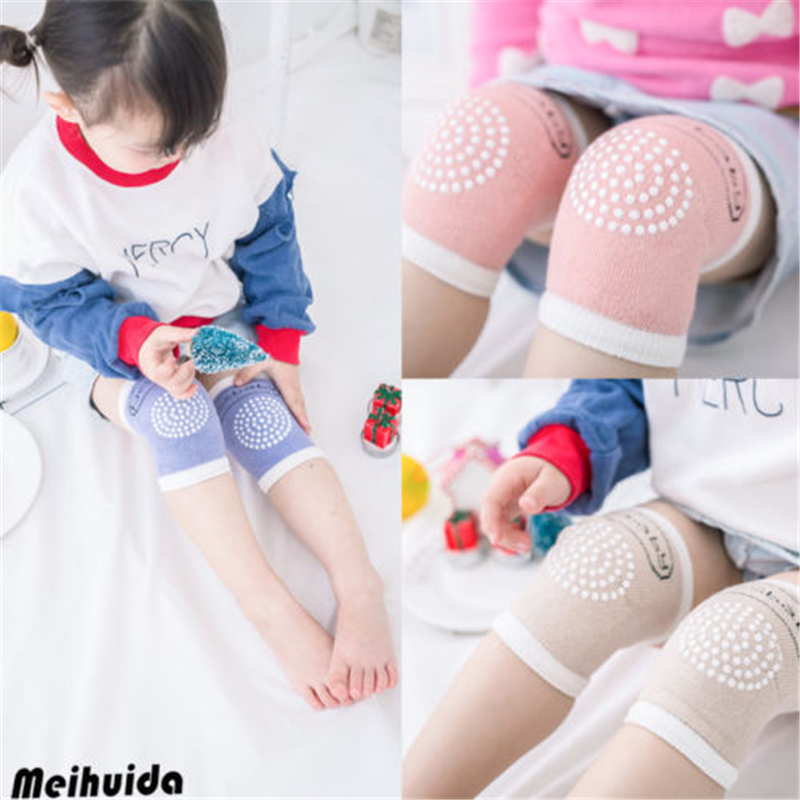 Vogue NEW Baby Crawling Knee Pads Safety Anti-slip Walking Leg Elbow Protector Hot New Baby Kids Kneelet Protect Kids Knee