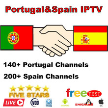 Best Stable IPTV Spain M3U Live IPTV Portugal France 1 Year IPTV Subscription Free VOD for Enigma2 Android Box M3U Smart TV(China)