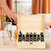 Home Storage Box Boutique Essential Oil Wooden Box 35 Grid Essential Oil Packaging Box Solid Oil Gift Box