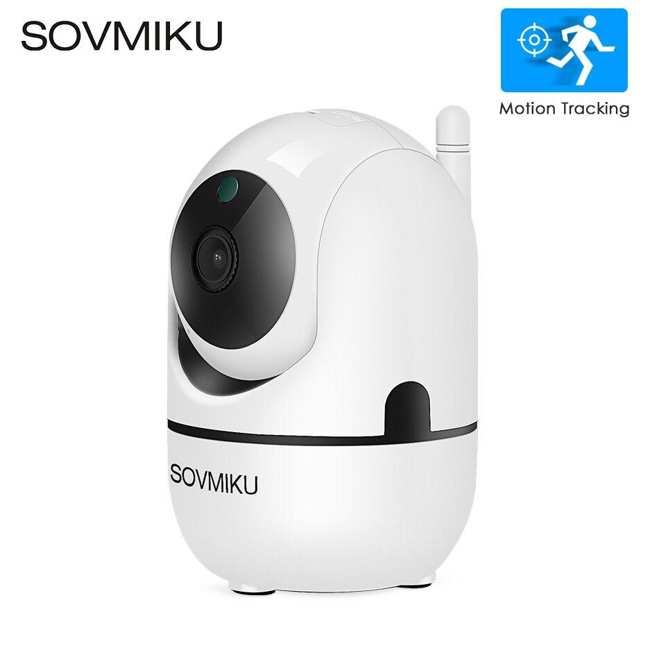 HD 1080P nube IP Cámara WiFi inalámbrico Auto Seguimiento de la cámara de vigilancia de seguridad del hogar humano CCTV red bebé monitor