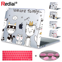 Case For Macbook Air Pro Retina 12 13 15 inch Touch bar 2018 A1989 A1990 A2159 Cute Cat Animal Prints Hard Laptop Cover Shell цена и фото