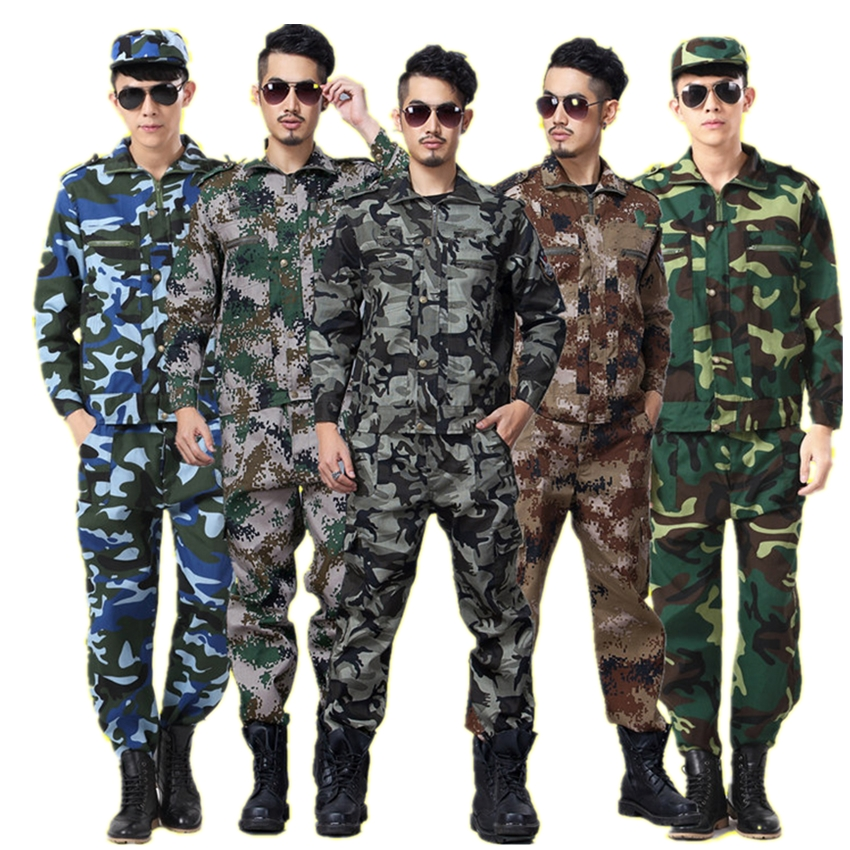 Army Suit Camouflage Tactical Jacket Soldier Tactical Men Women Outdoors Training Clothes ACU Combat-Proven Special Forces image
