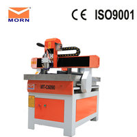 Made in China Mini cnc router 6060 for aluminium / pcb heavy duty wood carving mirror frame