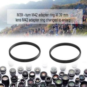 Image 3 - High Precision Metal M39 Lens to M42 39mm to 42mm Adapter Ring Screw Lens Mount Adapter for Pentax M39 M42 Convenient