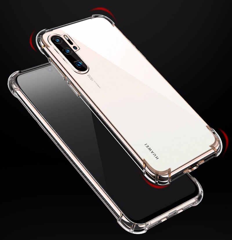 Transparan TPU untuk Huawei Honor 10i 20i 8 9 10 Lite 8X 8C V9 Bermain 6C PRO 8S 8A Penutup Belakang Case untuk P30 P20 Mate 20 Lite