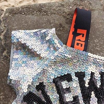 Bobo Plus La 02 181215 Col Casual Rond Dame L'épaule T T Bretelles Taille Femmes Sug18121501 01 Paillettes Shirt 2 Sexy shirt À De Outre 1qFxfw1