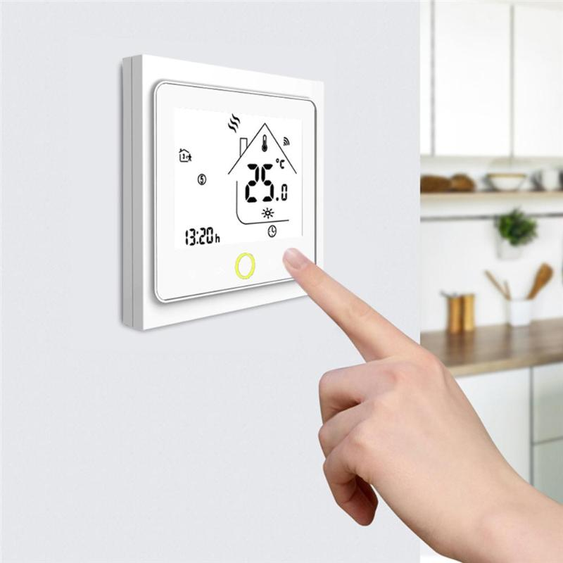 WiFi Smart Thermostat Temperature Controller For Water/Electric Floor Heating Works With Alexa Google Home