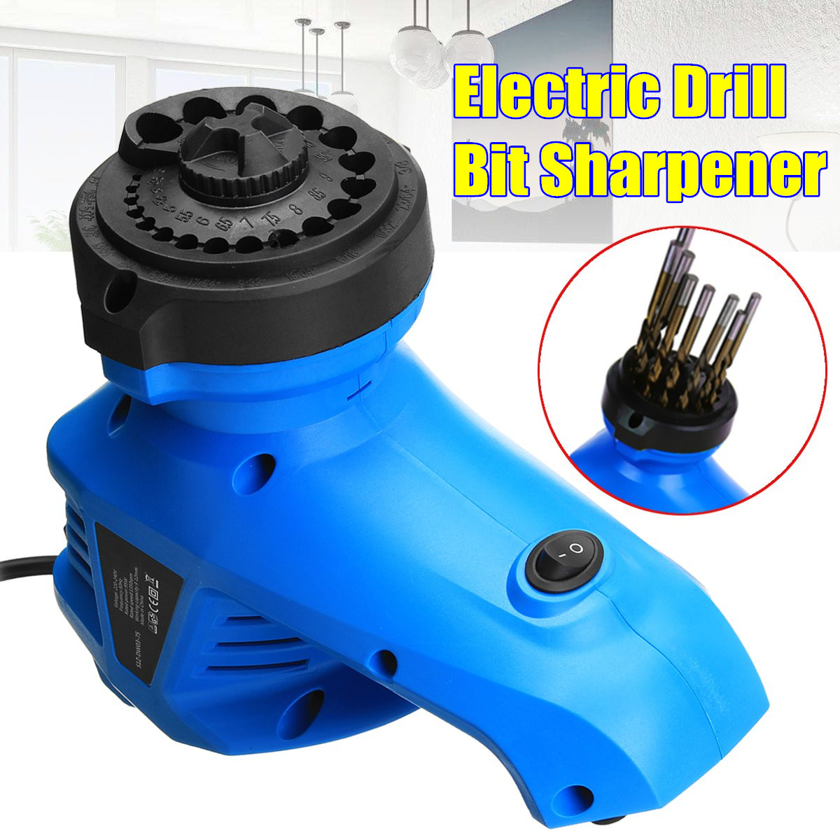 3-12MM Electric Multi Grinding Tool Rotary Machine Twist Drill Bit Sharpener 95W3-12MM Electric Multi Grinding Tool Rotary Machine Twist Drill Bit Sharpener 95W