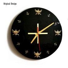 New 3D Wall Clock 30cm Quartz Decorative Retro Modern Design Silent Movement Watch For Living Room Dropshipping
