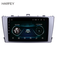 Harfey 9 Android 8.1 GPS Navigation Radio for 2009 2013 Toyota AVENSIS with Bluetooth SWC support DVR car multimedia player