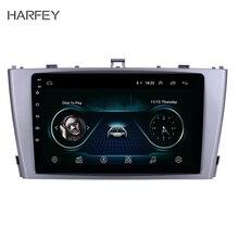 Harfey 9 «Android 8,1 gps навигационное радио для 2009-2013 Toyota AVENSIS с Bluetooth SWC поддержка DVR Автомобильный мультимедийный плеер
