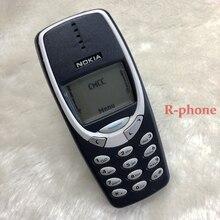 Oryginalny NOKIA 3310 2G GSM odblokowany telefon komórkowy dobry tani odnowiony telefon komórkowy