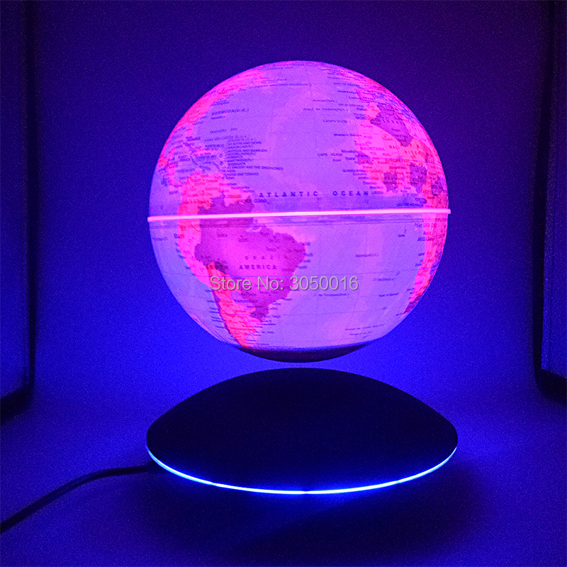 Creative LED Magnetic Levitation Globe Night Lights Table Lamp  Children's Gifts World Map  Night Lamp For Kid Plasma Ball