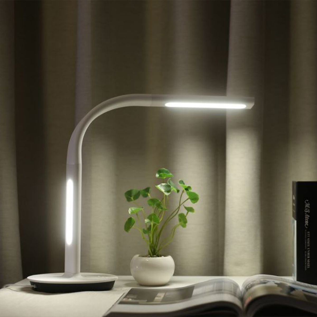 Desk Led Mijia Light Alexa Dimming Enabled Lamp Wifi Home Control Table Remote Xiaomi Mi App With Smart Reading Work vmwN80n