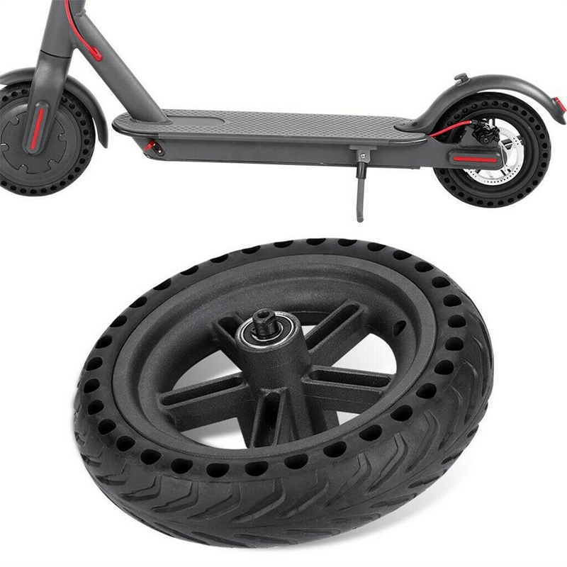 Image 4 - 8.5 Inch Damping Solid Tyres Hollow Non Pneumatic Wheel Hub And Explosion Proof Tire Set For Xiaomi Mijia M365 Electric Scoote-in Scooter Parts & Accessories from Sports & Entertainment