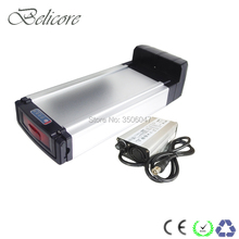 500w 750w e bike li-ion battery 48v 12ah 13ah 14ah 15ah 16ah 17ah 175ah rear rack style electric cargo bicycle tricycle battery